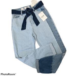 🆕 Bershka cropped mom jeans 00